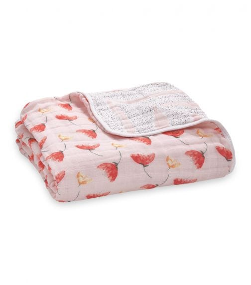 ADEN + ANAIS Classic Dream Blanket Picked For You - Poppies
