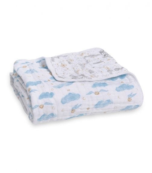 ADEN + ANAIS Classic Dream Blanket - Harry Potter Iconic Letters
