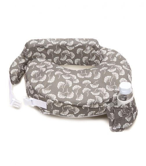 MY BREST FRIEND Original Pillow - Flowing Fans Grey & White