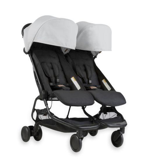 MOUNTAIN BUGGY Nano Duo Stroller - Silver