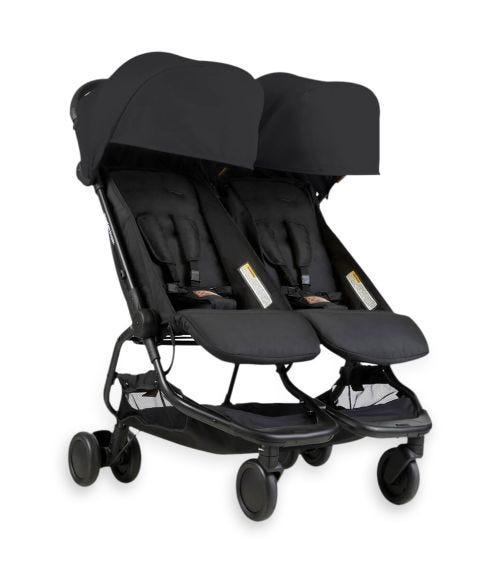 MOUNTAIN BUGGY Nano Duo Stroller - Black