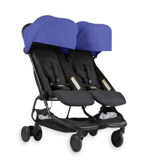 MOUNTAIN BUGGY Nano Duo Stroller - Nautical Blue