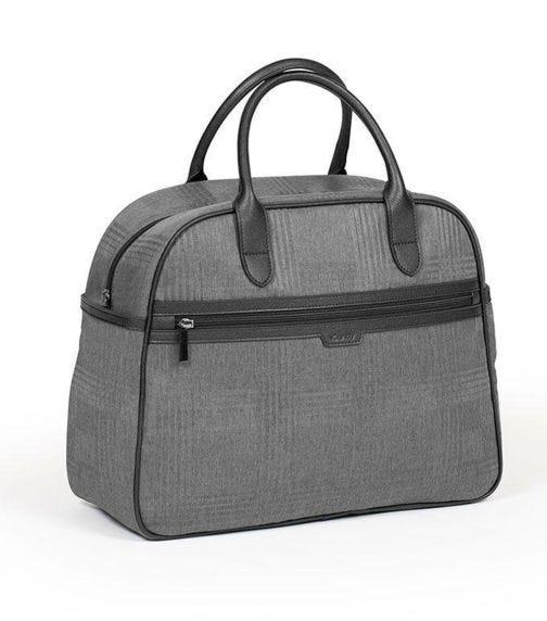 iCANDY Peach Dark Grey Check Bag