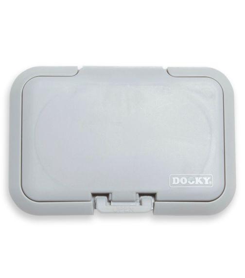 DOOKY Reusable Lid Wipe Dispenser Grey