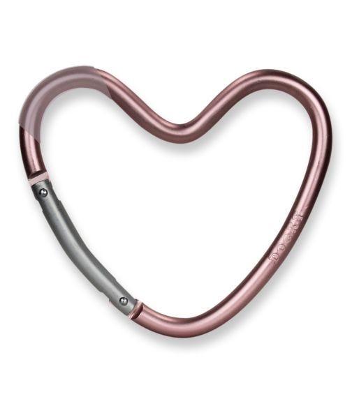 DOOKY Heart Hook - Matt Pink