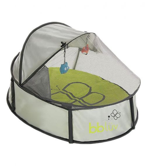 BBLUV Nida Mini - 2 In 1 Travel Bed & Play Tent