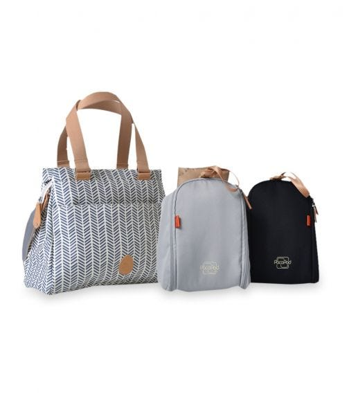 PACAPOD Richmond Travel Bag - Navy Herringbone