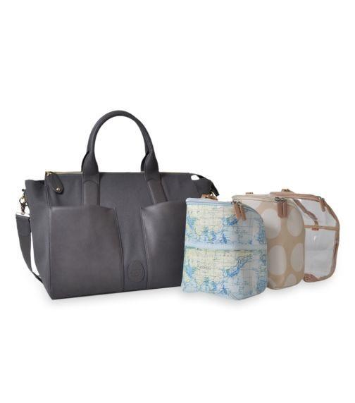 PACAPOD Croyde Travel Bag - Pewter