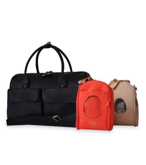 PACAPOD Loreto Travel Bag - Black