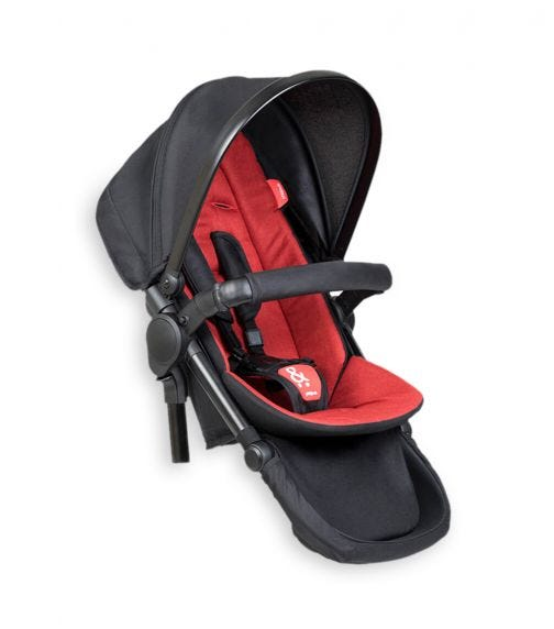 PHIL&TEDS Double Kit Extra Stroller Seat - Chilli
