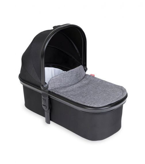 PHIL&TEDS Snug Carrycot - Charcoal