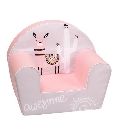 DELSIT Arm Chair Awesome Lama - Rosie