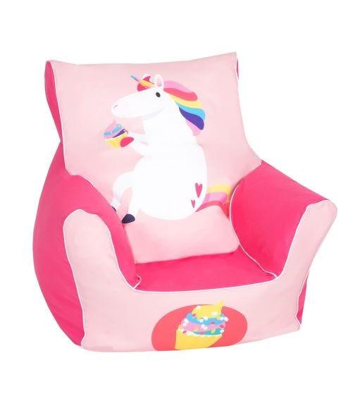 DELSIT Bean Chair - Unicorn Muffin