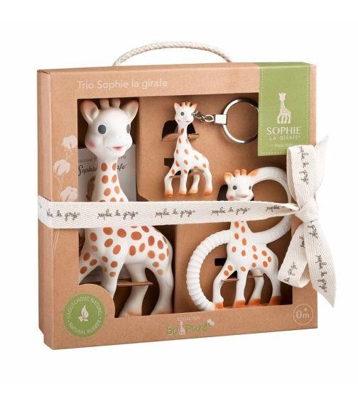 SOPHIE LA GIRAFE So'Pure Trio Teething Toy