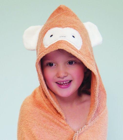 CUDDLEDRY Hooded Bath Towel - Cuddlemonkey (1-3 Y)