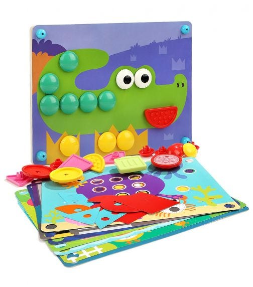 TOPBRIGHT 8 In 1 Button Puzzle