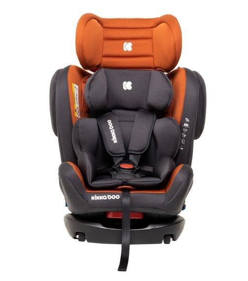 KIKKABOO Car Seat 0-1-2-3 (0-36  KG) 4 Fix Orange 2020
