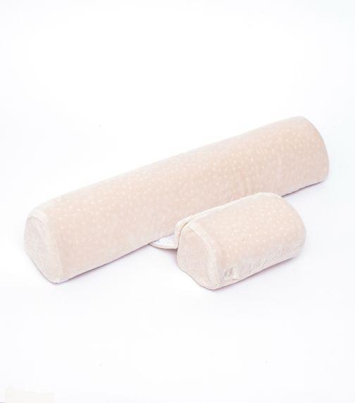 KIKKABOO Memory Positioner Beige Velvet