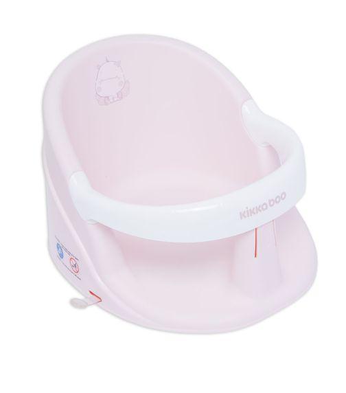 KIKKABOO Bath Seat Hippo Pink