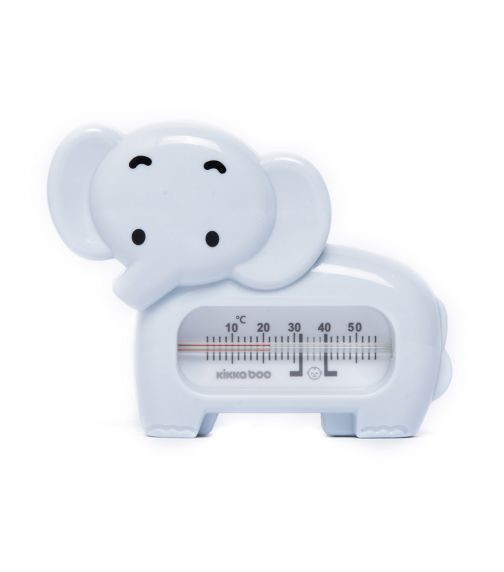 KIKKABOO Bath Thermometer Elephant Blue