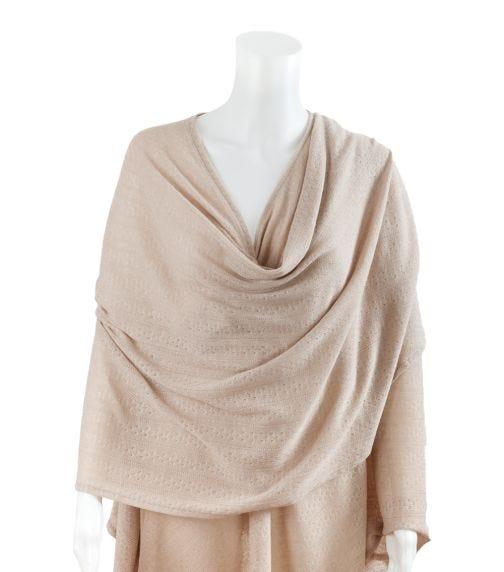 BEBITZA Textured Knit Fabric – Taupe