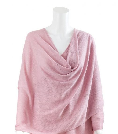 BEBITZA Textured Knit Fabric – Pink