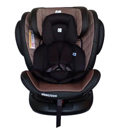 KIKKABOO Car Seat 0-1-2-3 (0-36  KG) Stark Beige