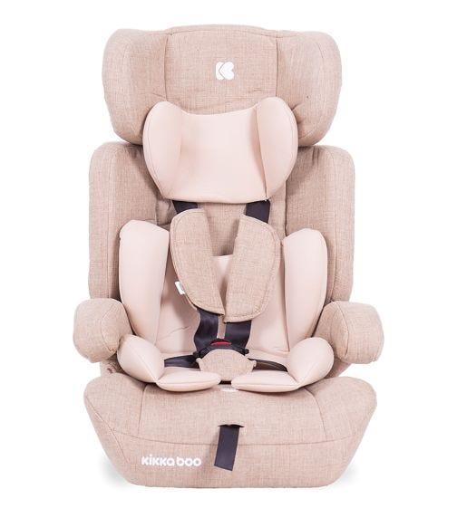 KIKKABOO Car Seat 1-2-3 (9-36  KG) Zimpla Beige