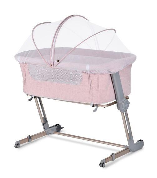 UNILOVE Hug Me Plus Baby Crib - Plum Pink