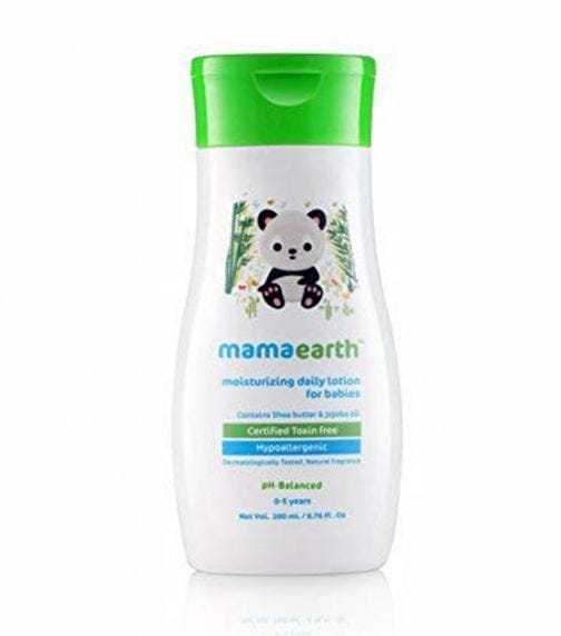 MAMAEARTH Moisturizing Daily Lotion For Babies, 400 ML