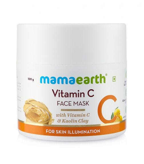 MAMAEARTH Vitamin C Face Mask 100 ML