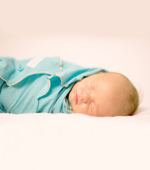 BEBITZA Antibacterial Baby Wrap - Green
