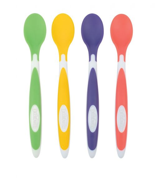 DR. BROWN'S Soft Tip Spoon 4 Pack