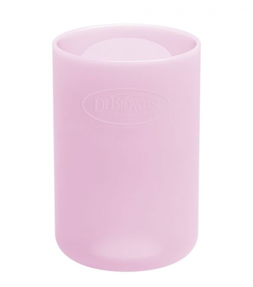DR. BROWN'S 4 Oz/120 ML Narrow Glass Bottle Sleeve Pink