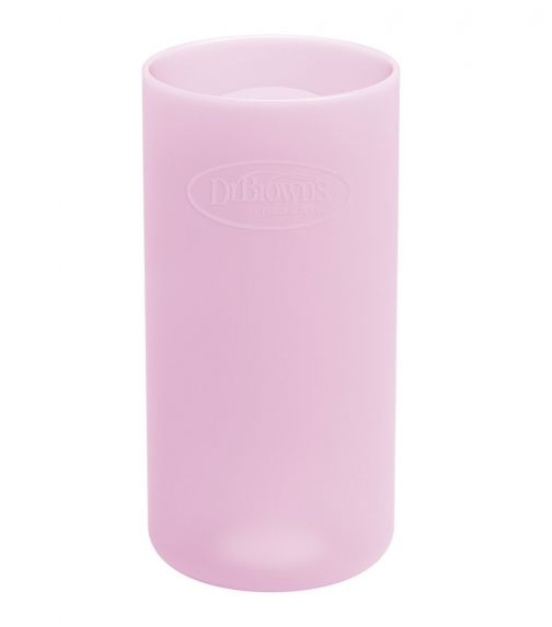 DR. BROWN'S 8 Oz/250 ML Narrow Glass Bottle Sleeve Pink