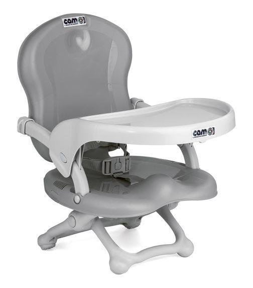 CAM Smarty Booster Feeding Chair - Ash Grey