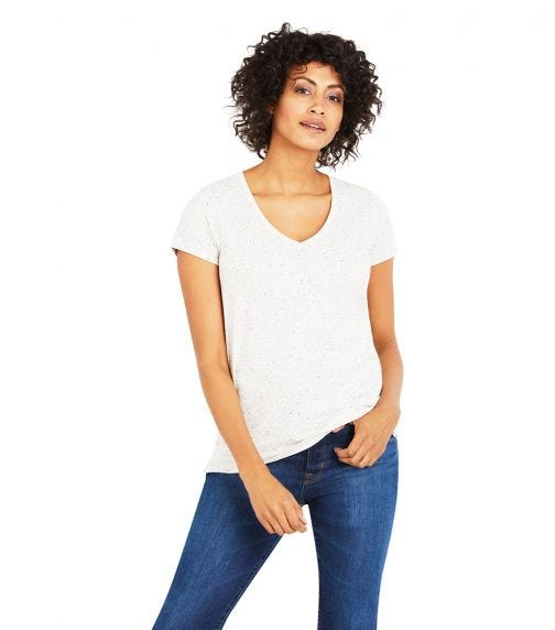 A PEA IN THE POD Side Vent Nursing Tee