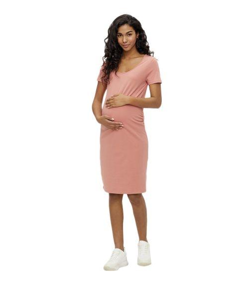 MAMALICIOUS Mllea Short Sleeved Maternity Mini Dress
