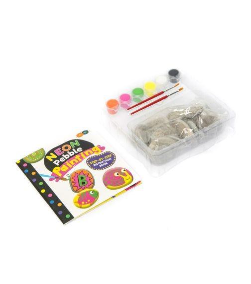 BUDDY & BARNEY Neon Rock Painting Kit