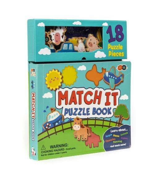 BUDDY & BARNEY Match It Puzzle Book