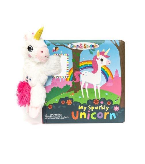 BUDDY & BARNEY Snap And Snuggle My Sparkly Unicorn