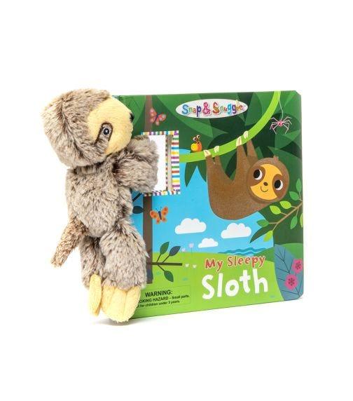 BUDDY & BARNEY Snap And Snuggle My Sleepy Sloth