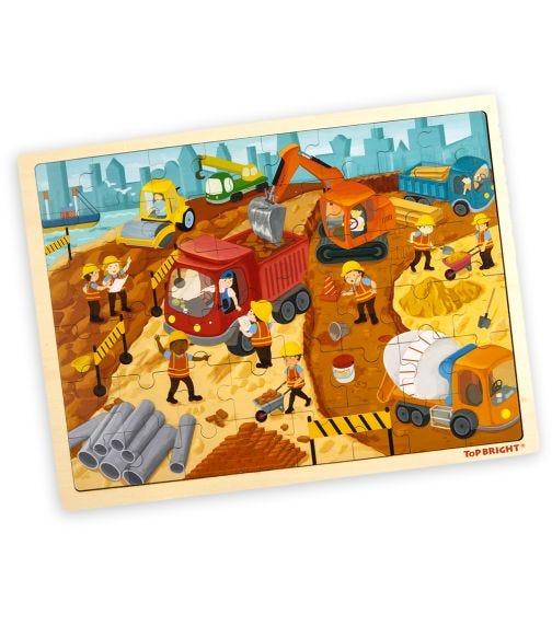 TOPBRIGHT Buildig Site Puzzle