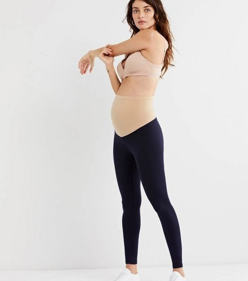 A PEA IN THE POD Luxe Essentials Secret Fit Belly Leggings