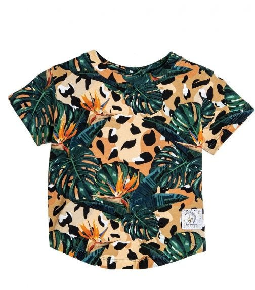 HEY POPINJAY Jungle-Spots T-Shirt