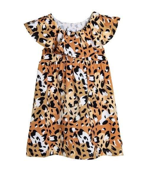 HEY POPINJAY Macarena Jungle-Spots Dress