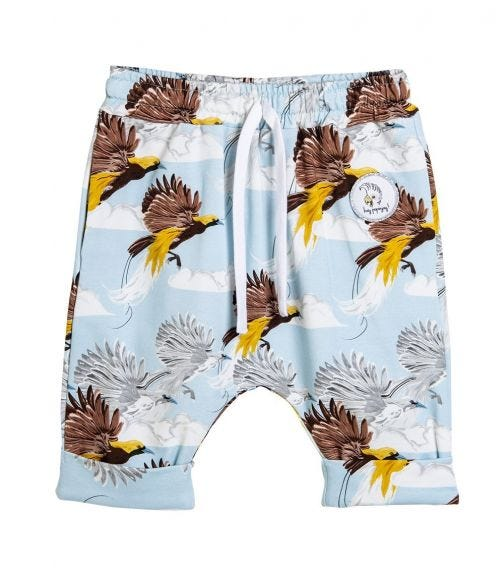 HEY POPINJAY Greater Bird Baggy Shorts