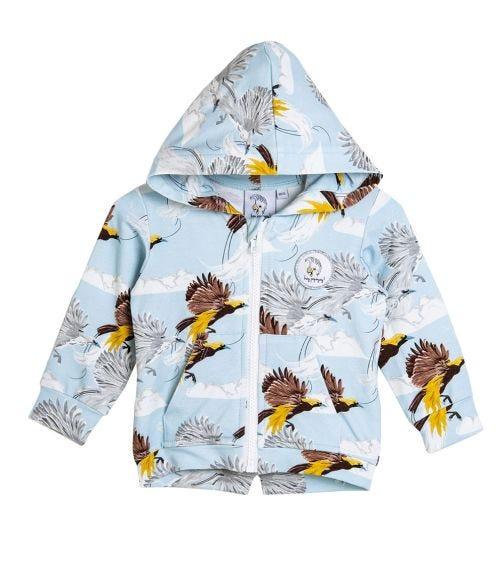 HEY POPINJAY Greater Bird Hoodie With Zip