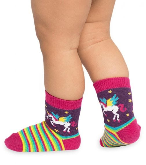 SOCK IT TO ME Toddler Crew - Winging It
