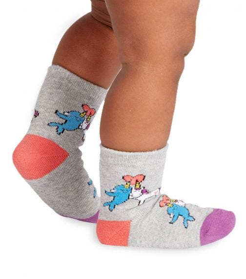 SOCK IT TO ME Toddler Crew - Great Horns Think Alike
